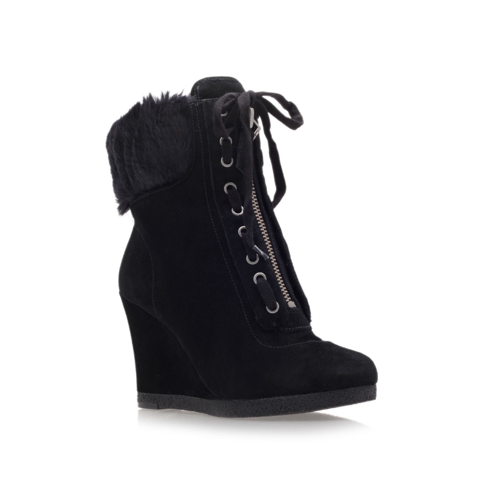 Bayla high heel wedge ankle boots