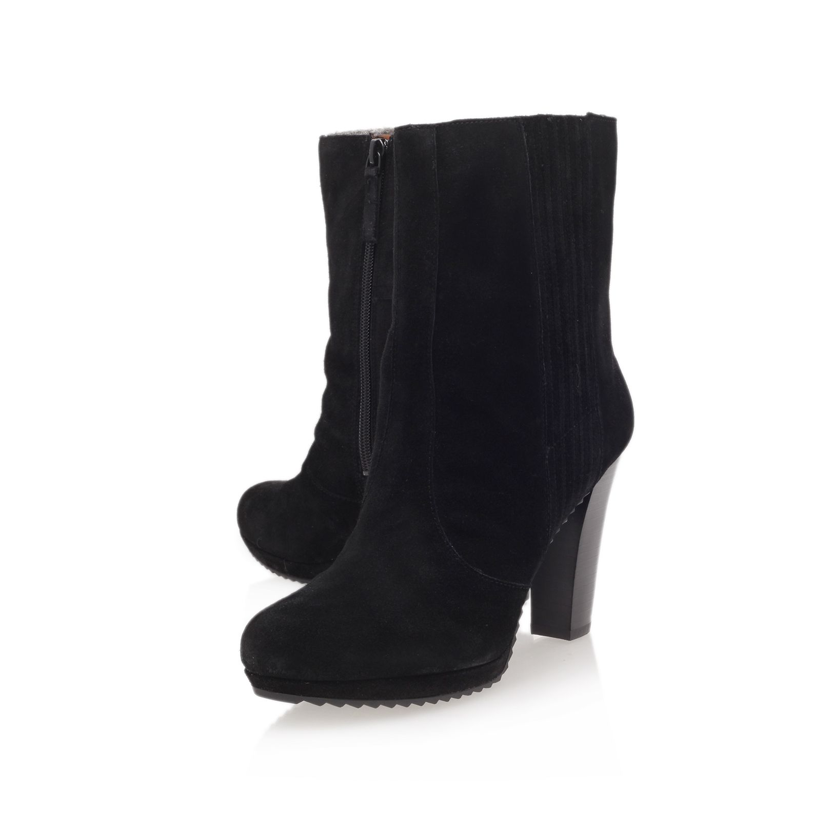 Perusha high heel calf boots
