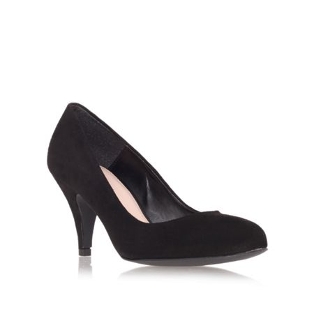 Carvela Adam mid heel court shoes