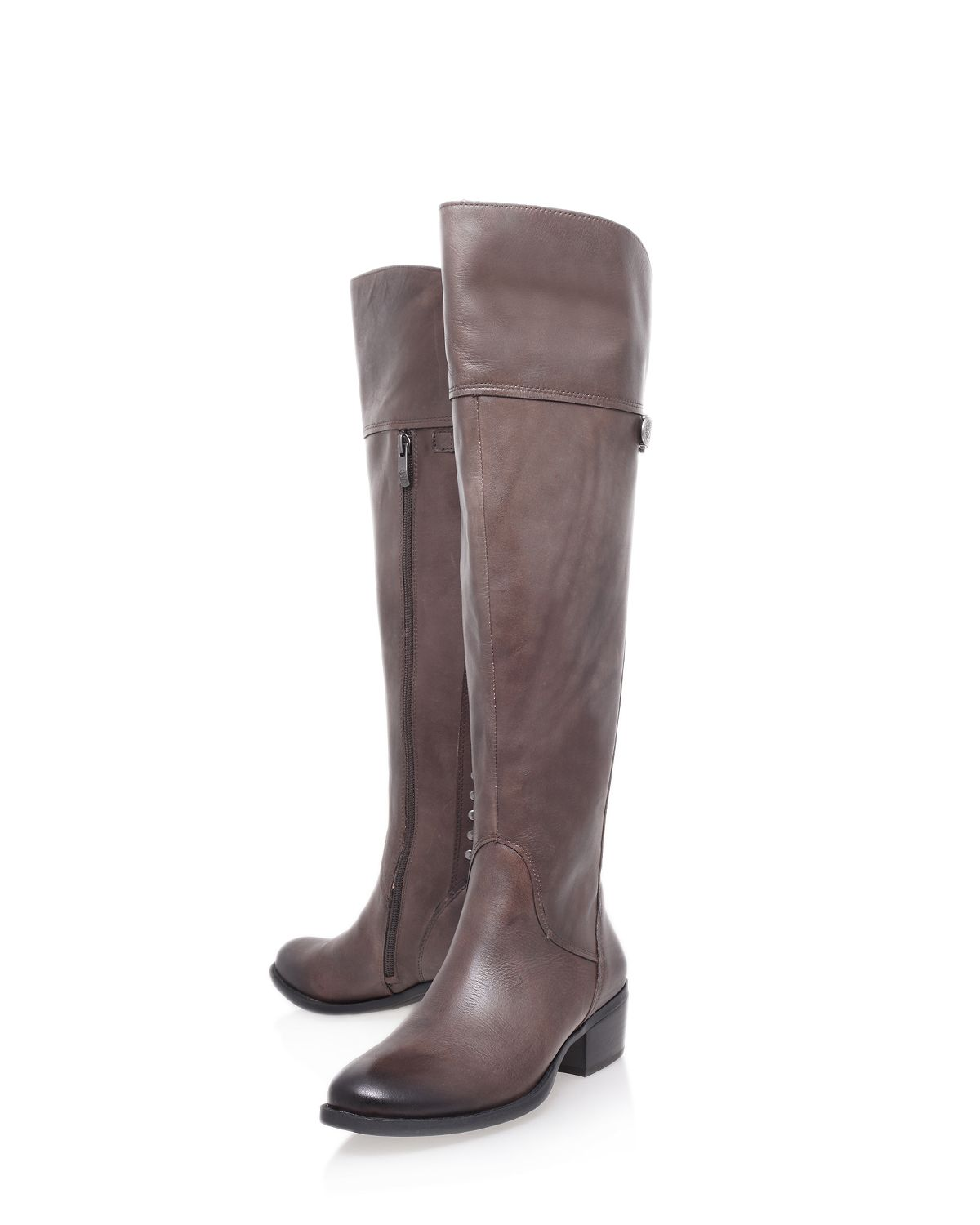 Brani low heel knee boots