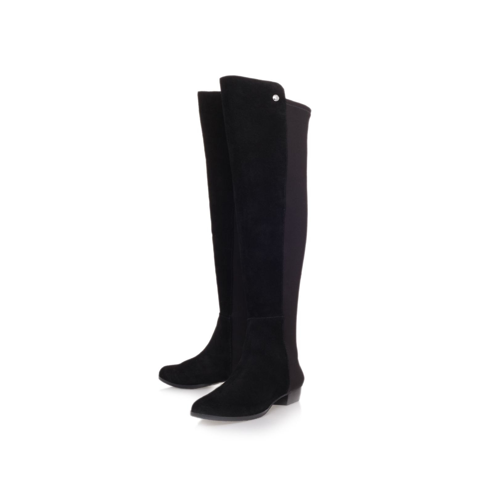Vatero low heel knee boots