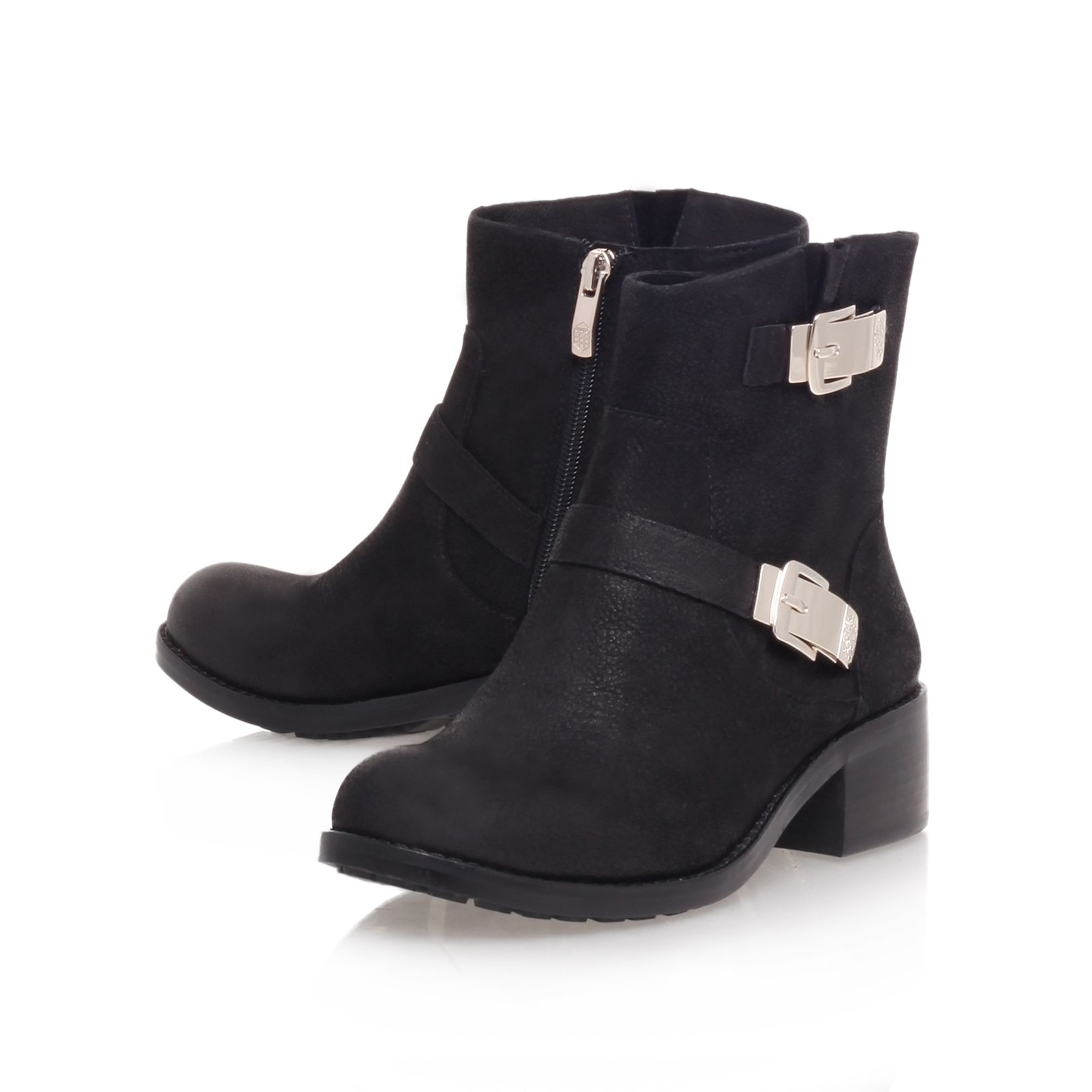 Wintra low heel ankle boots