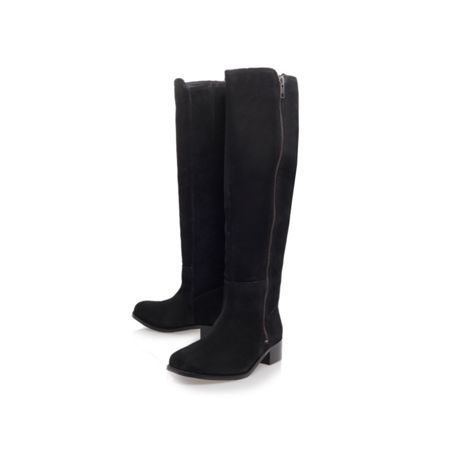 Carvela Paris low heeled knee length boots