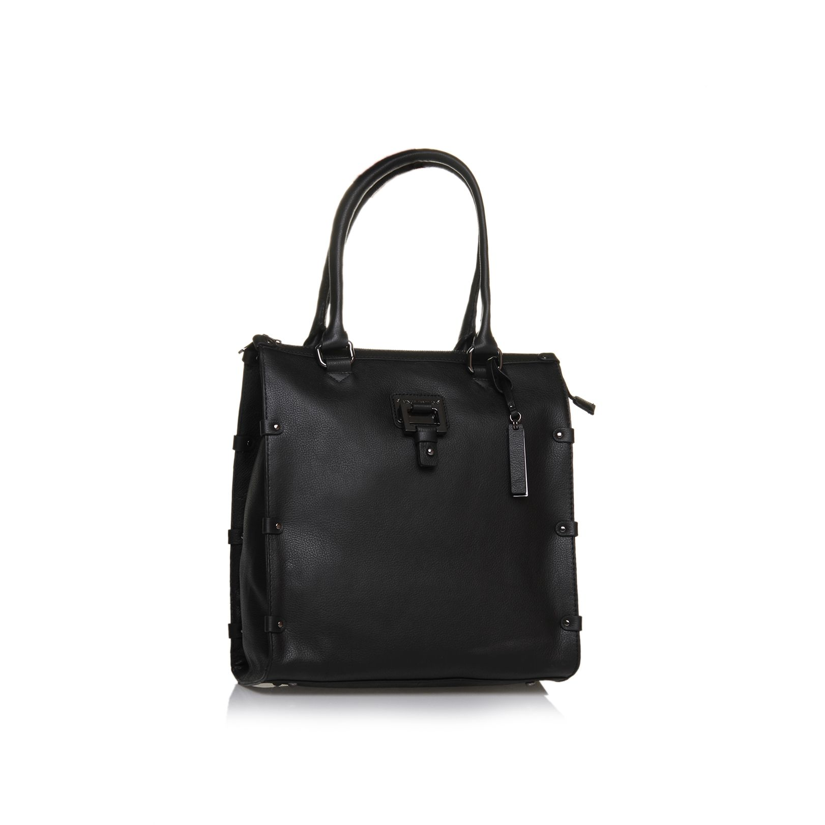 Dani leather tote bag