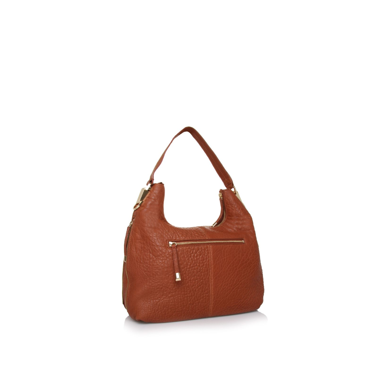 Riley leather hobo bag