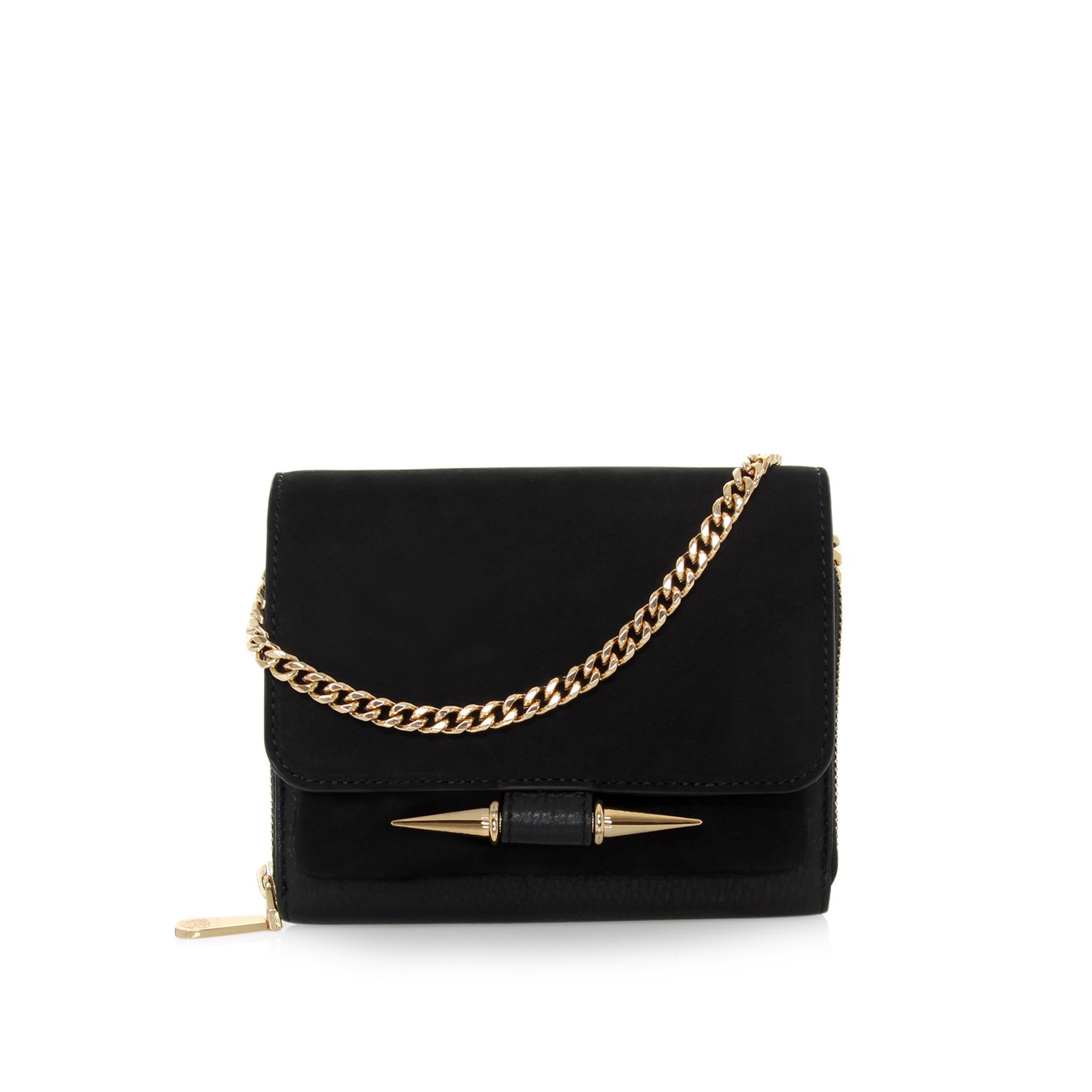 Gia black crossbody bag