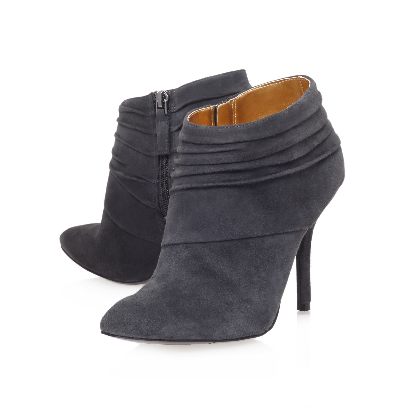 Junette mid heeled ankle boots