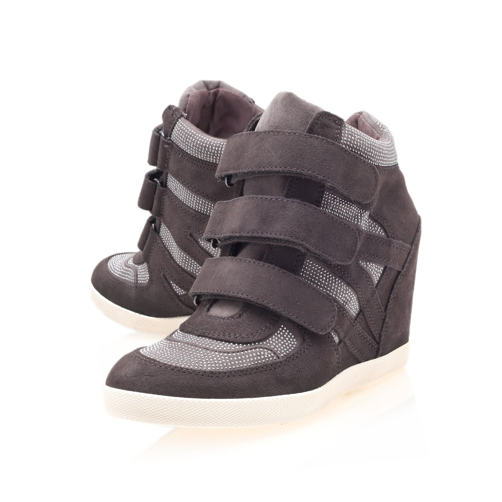 Rocksie high heel wedge trainers