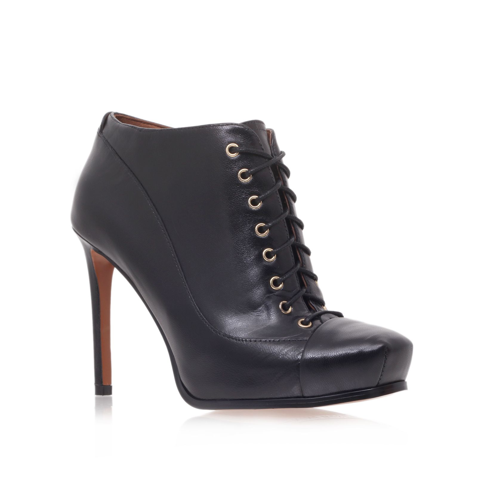 Oliviana high heel lace up shoe boot