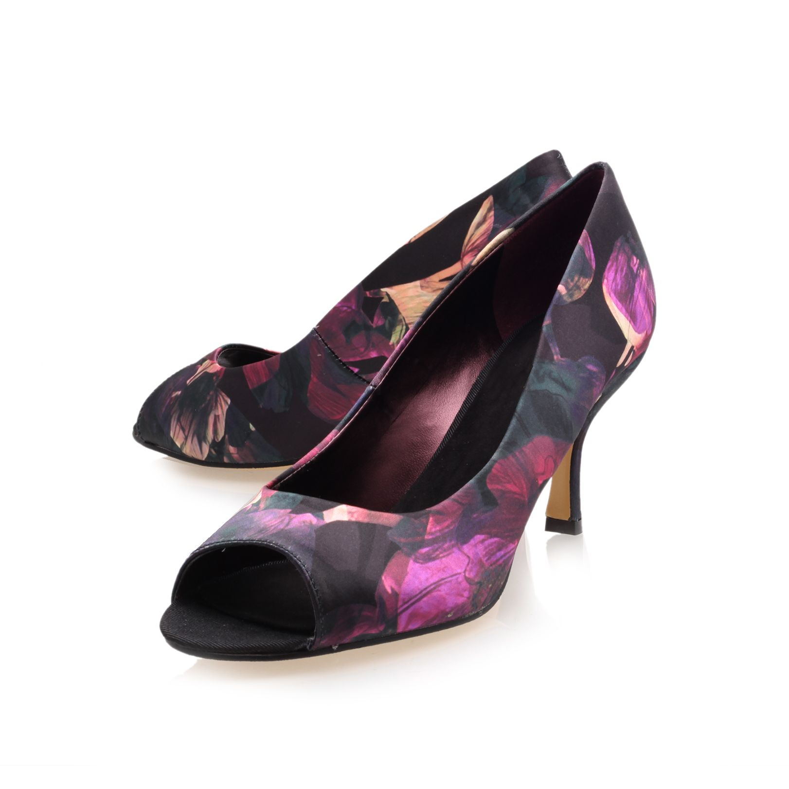 Quinty2 patterned heeled shoes