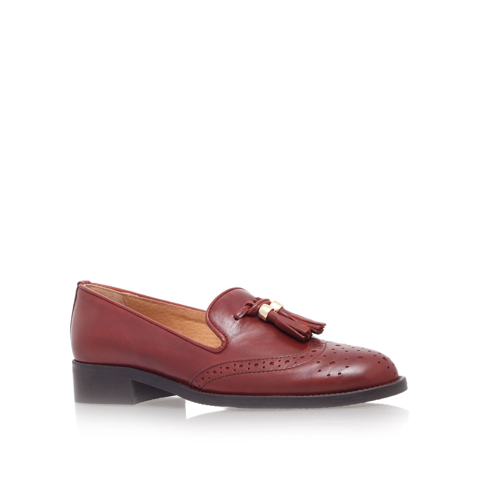 Louis low heel loafer shoes