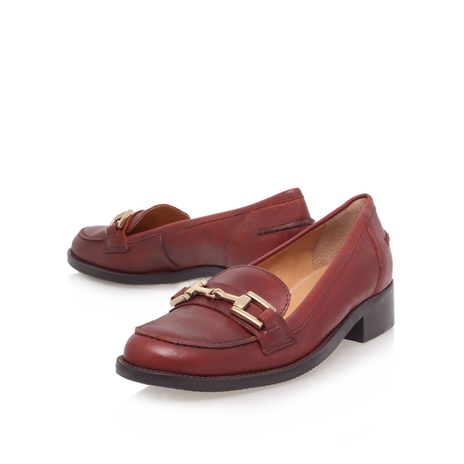 Leonard flat loafer shoes