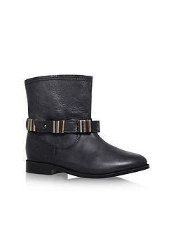 Tommy low heel ankle boots