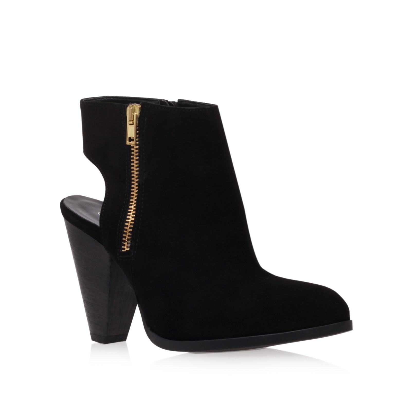 Shy high heel ankle boots