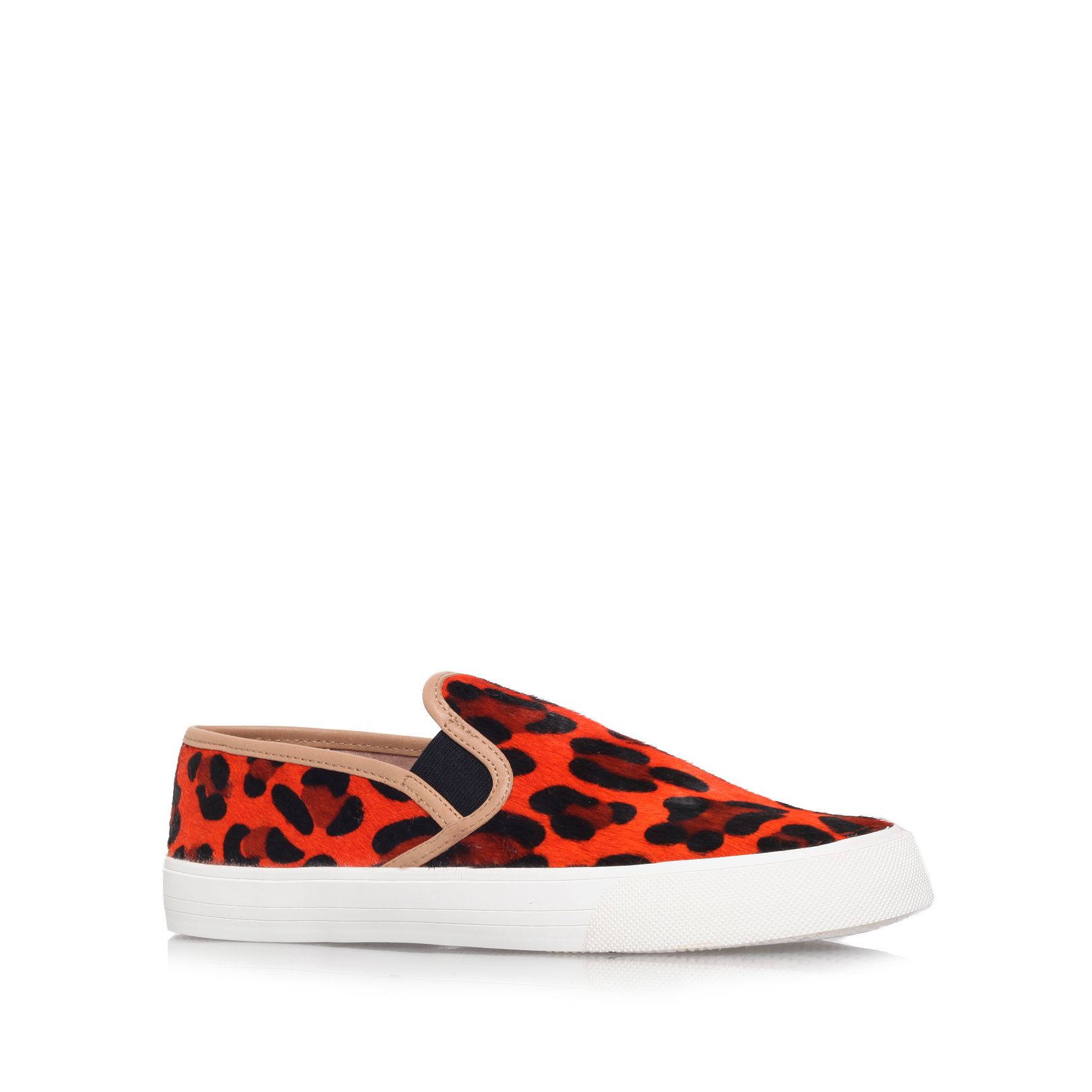 Lorenzo flat low top trainers