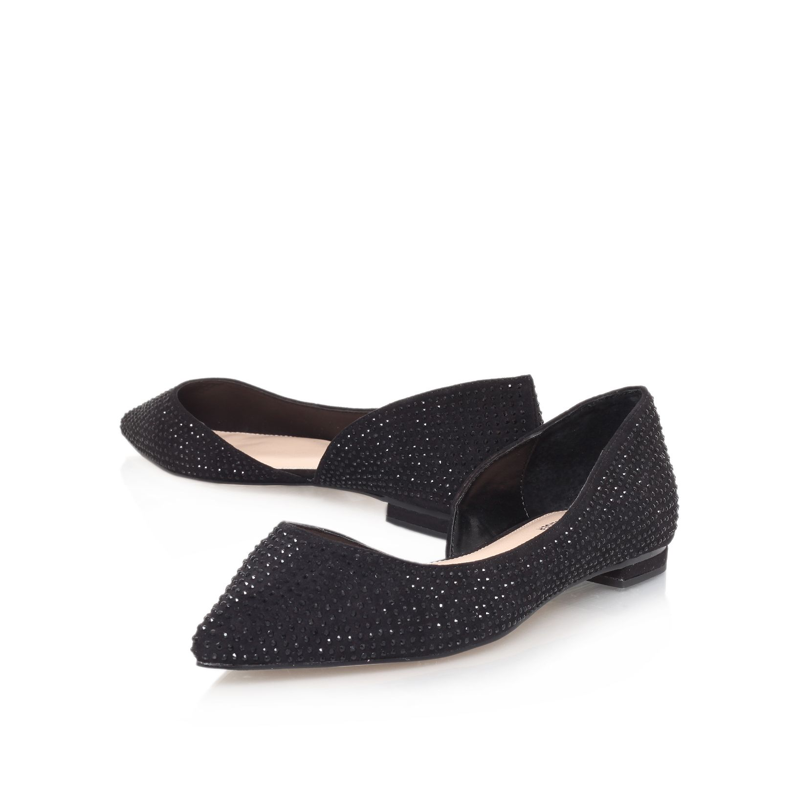 Lush flat slipper shoes