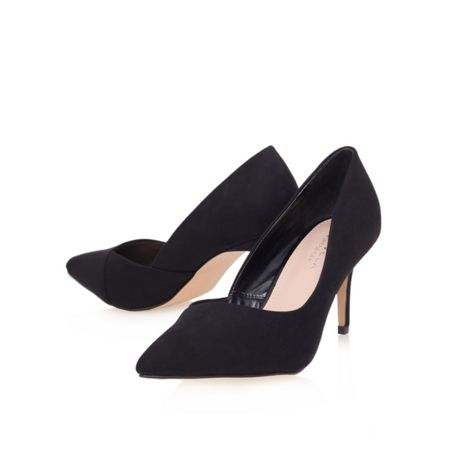 Carvela Abyss mid heel court shoes