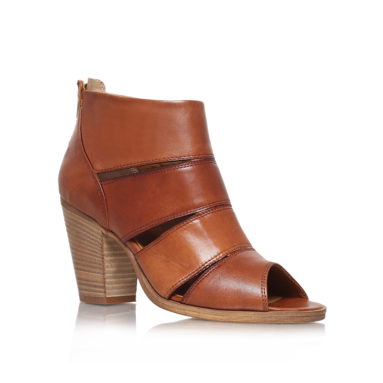 Kiwi high heel ankle boots