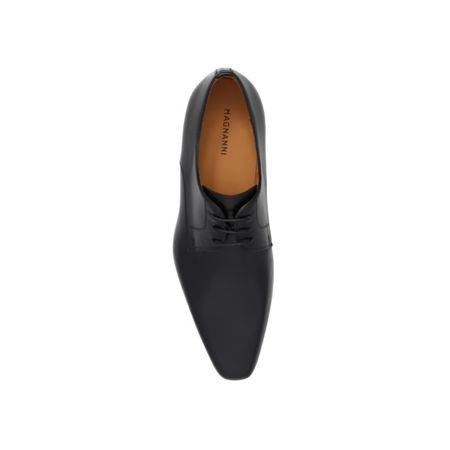 Magnanni Plain Leather leather lace up brogue