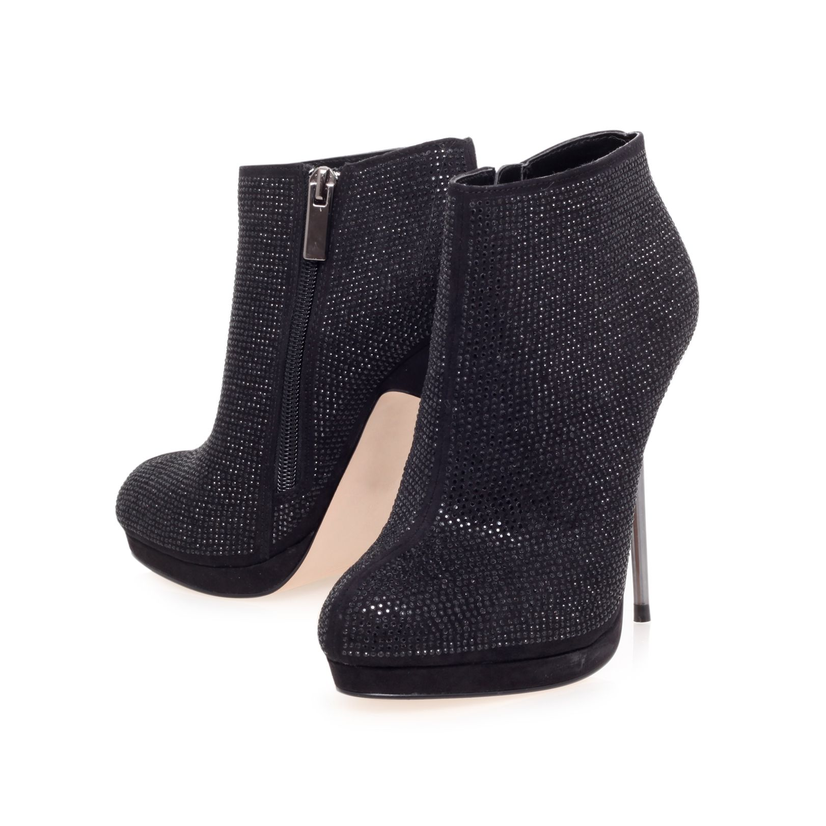 Giggle high heel ankle boots