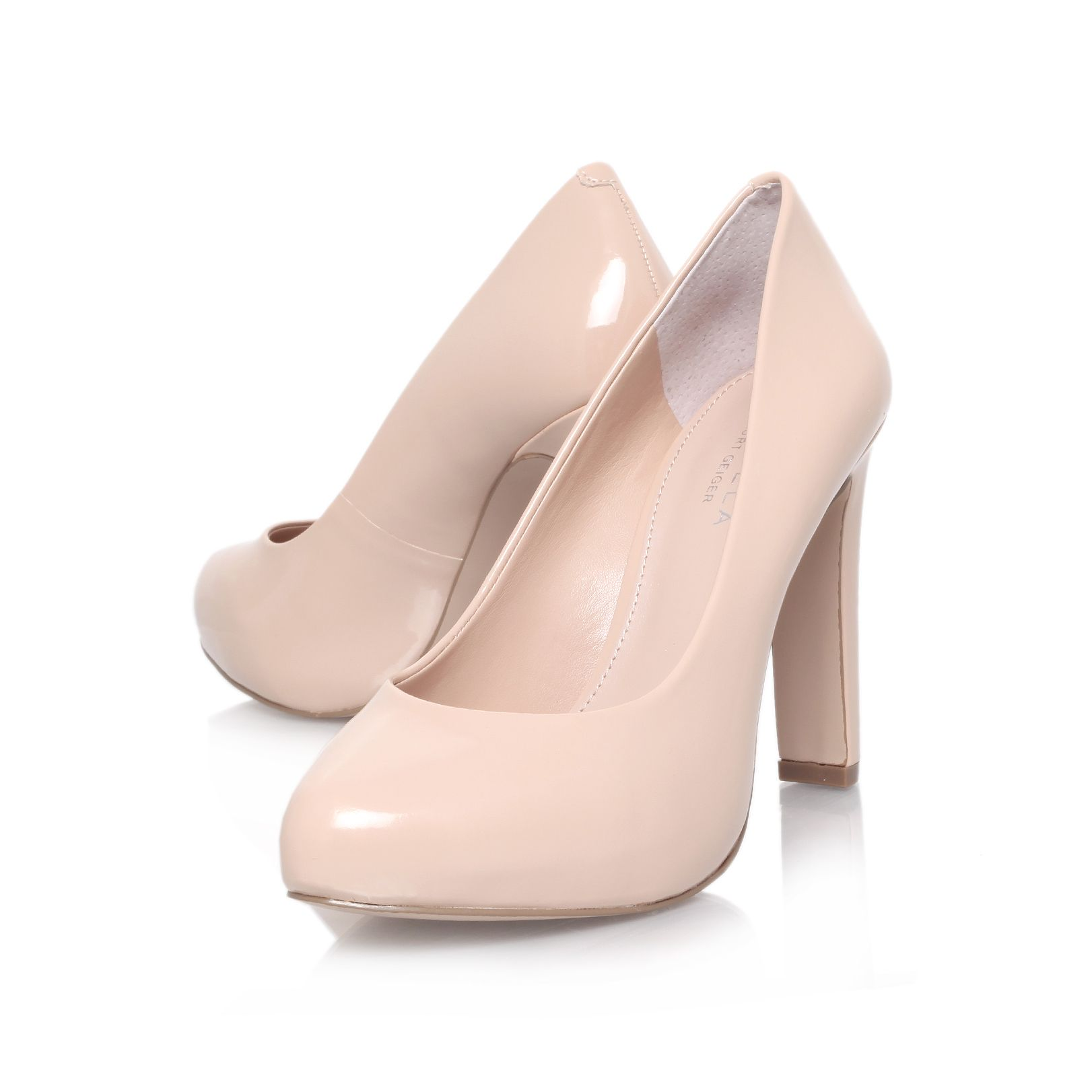 Aware high heel court shoes