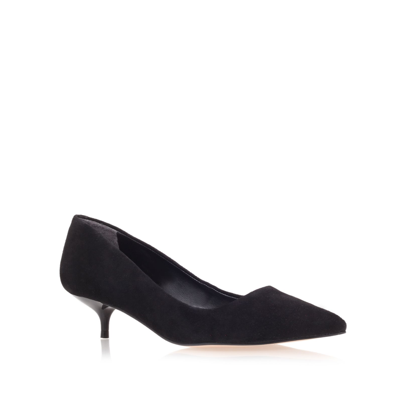 App low heel court shoes