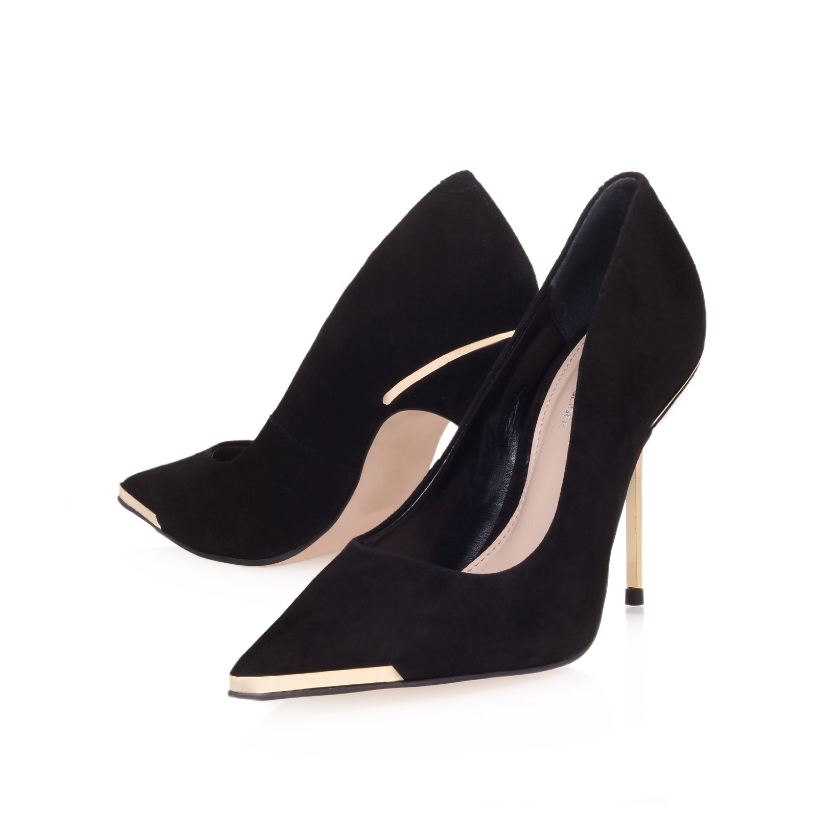 Adara high heel court shoes