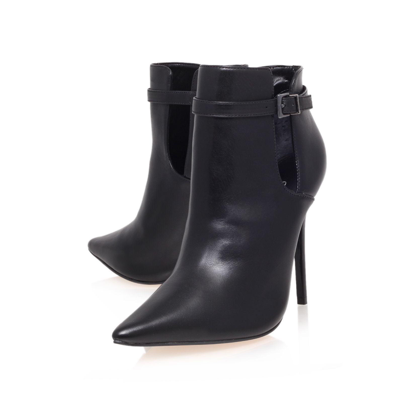 Get high heel ankle boots