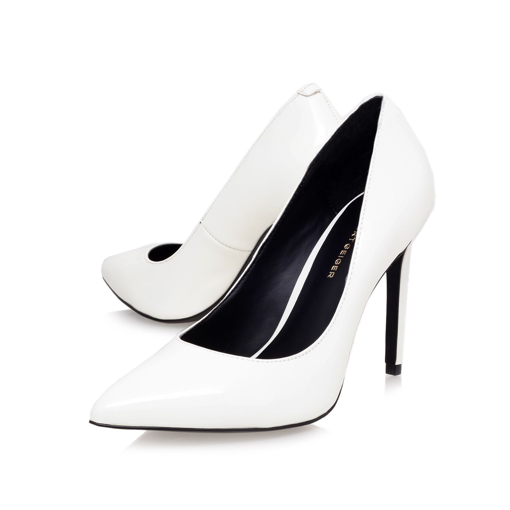 Bailey high heel court shoes