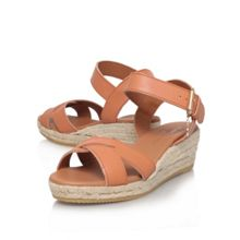 Libby low heel wedge sandals