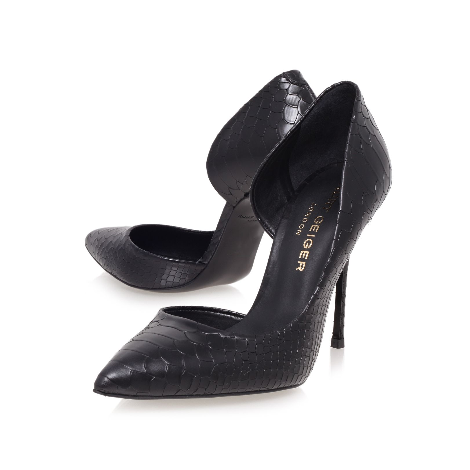 Anja high heel court shoes