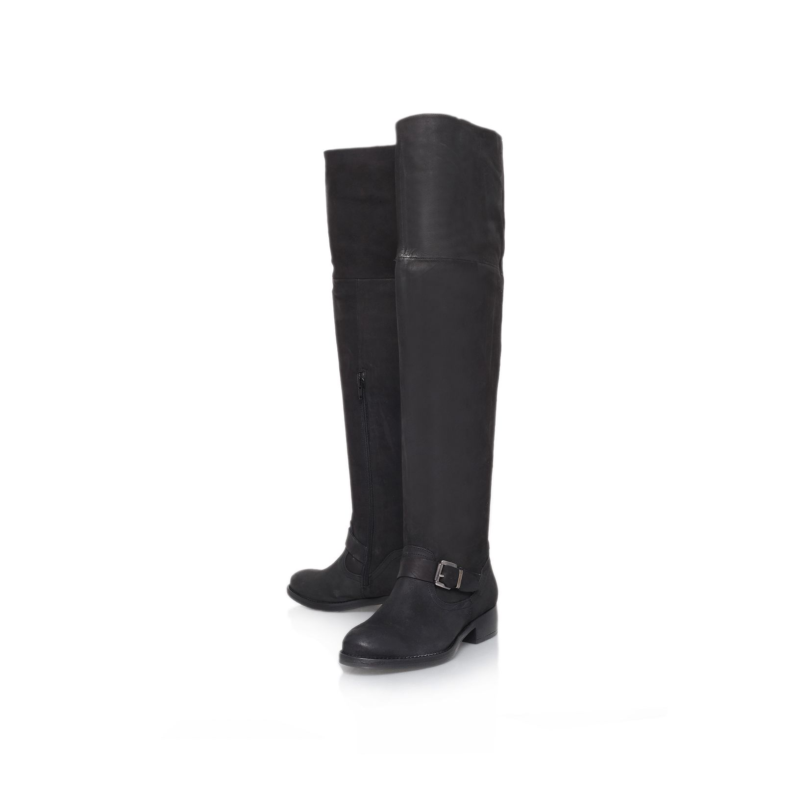 Ash low heel knee boots