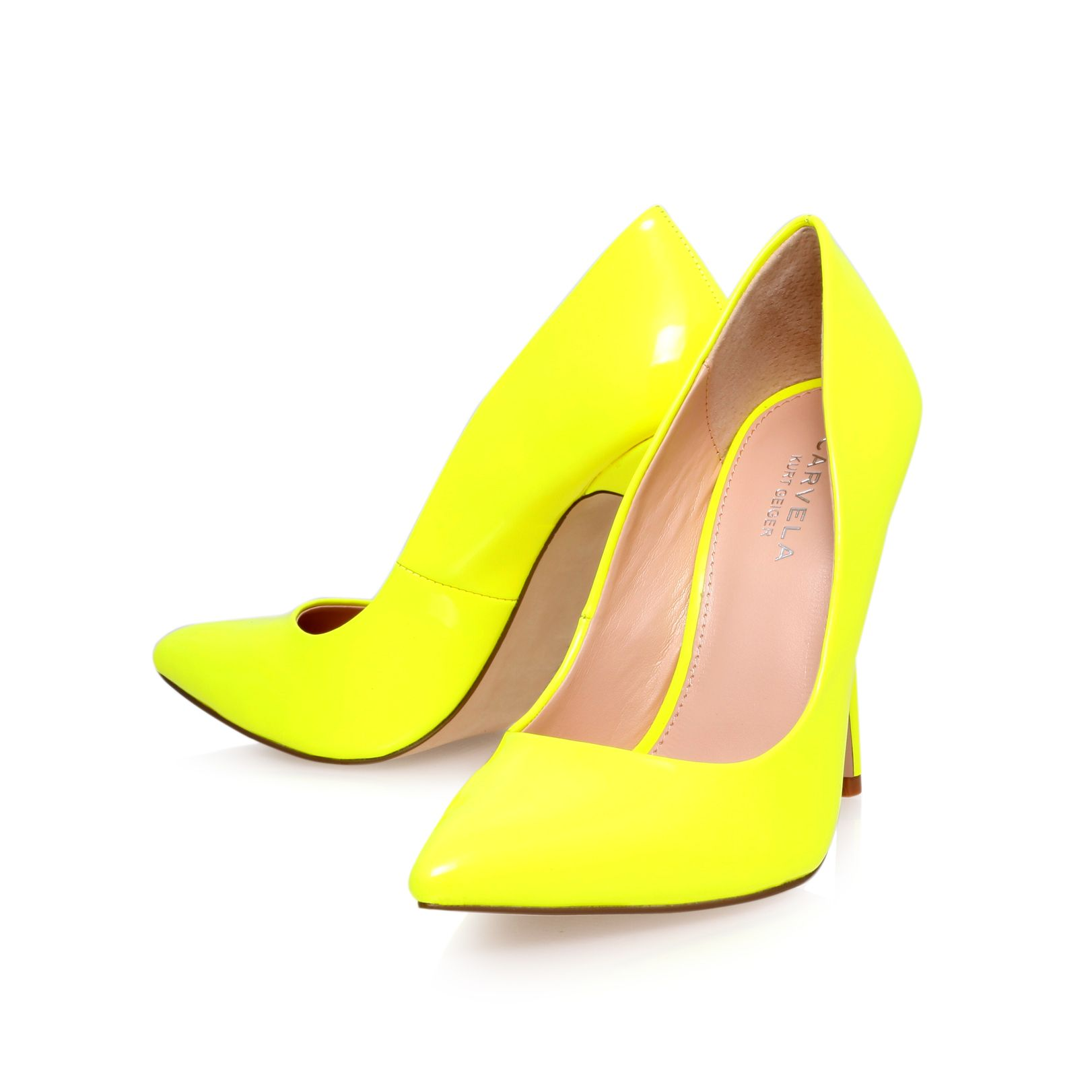 Gunning high heeled court shoes