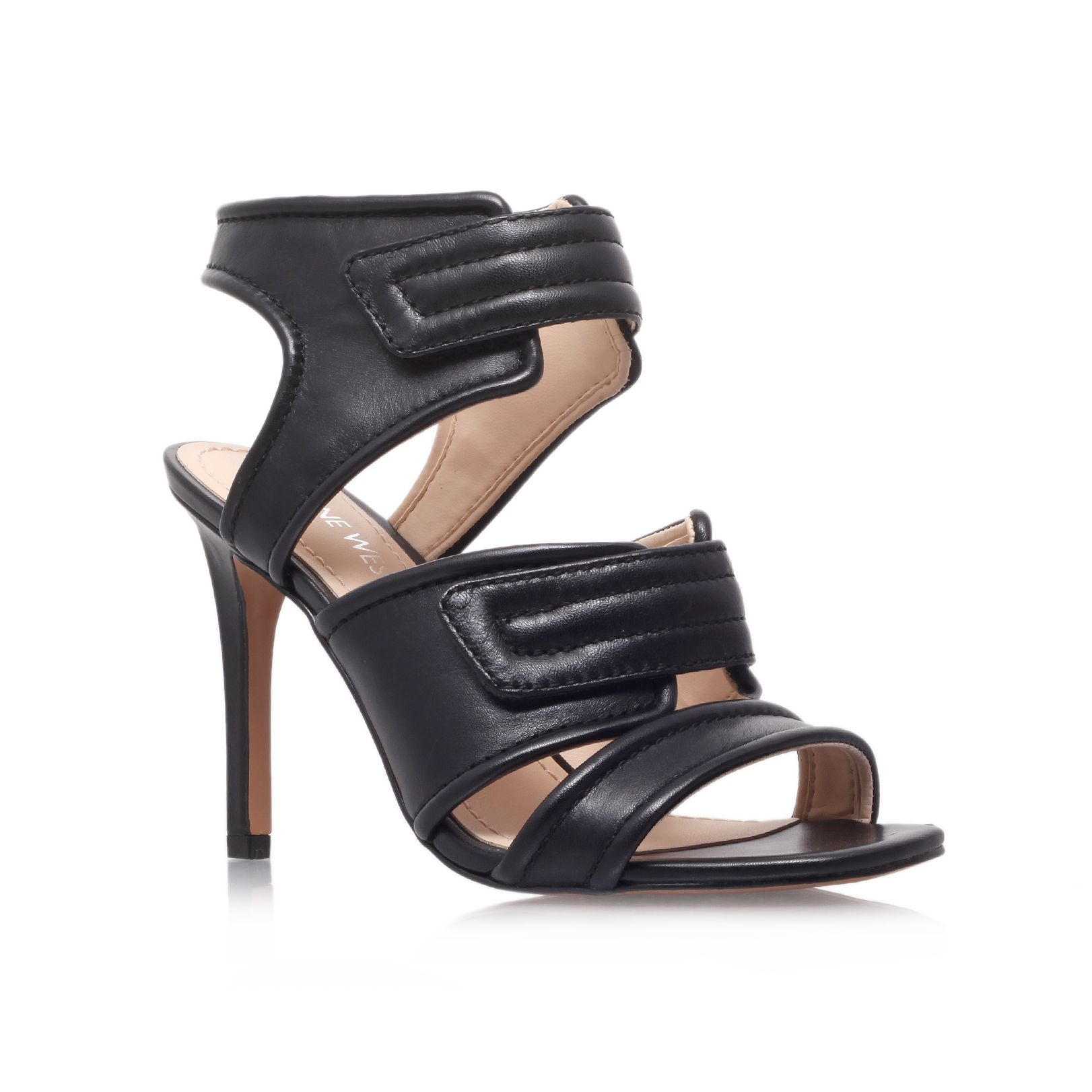 Kristilee leather high heel sandals