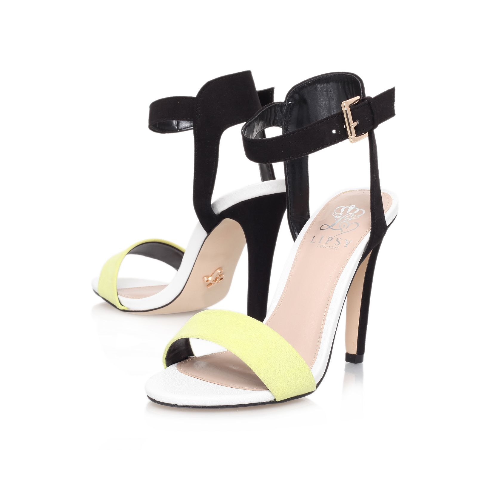 Claudia high heel sandals