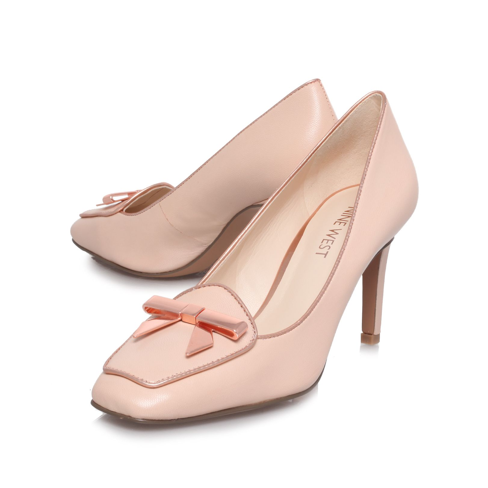 Darcy high heel court shoes
