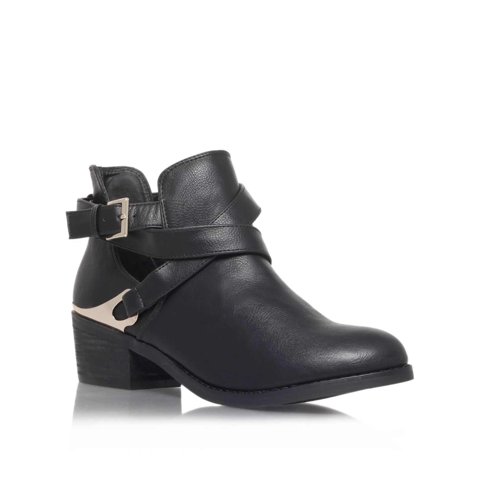 Emma low heel ankle boots