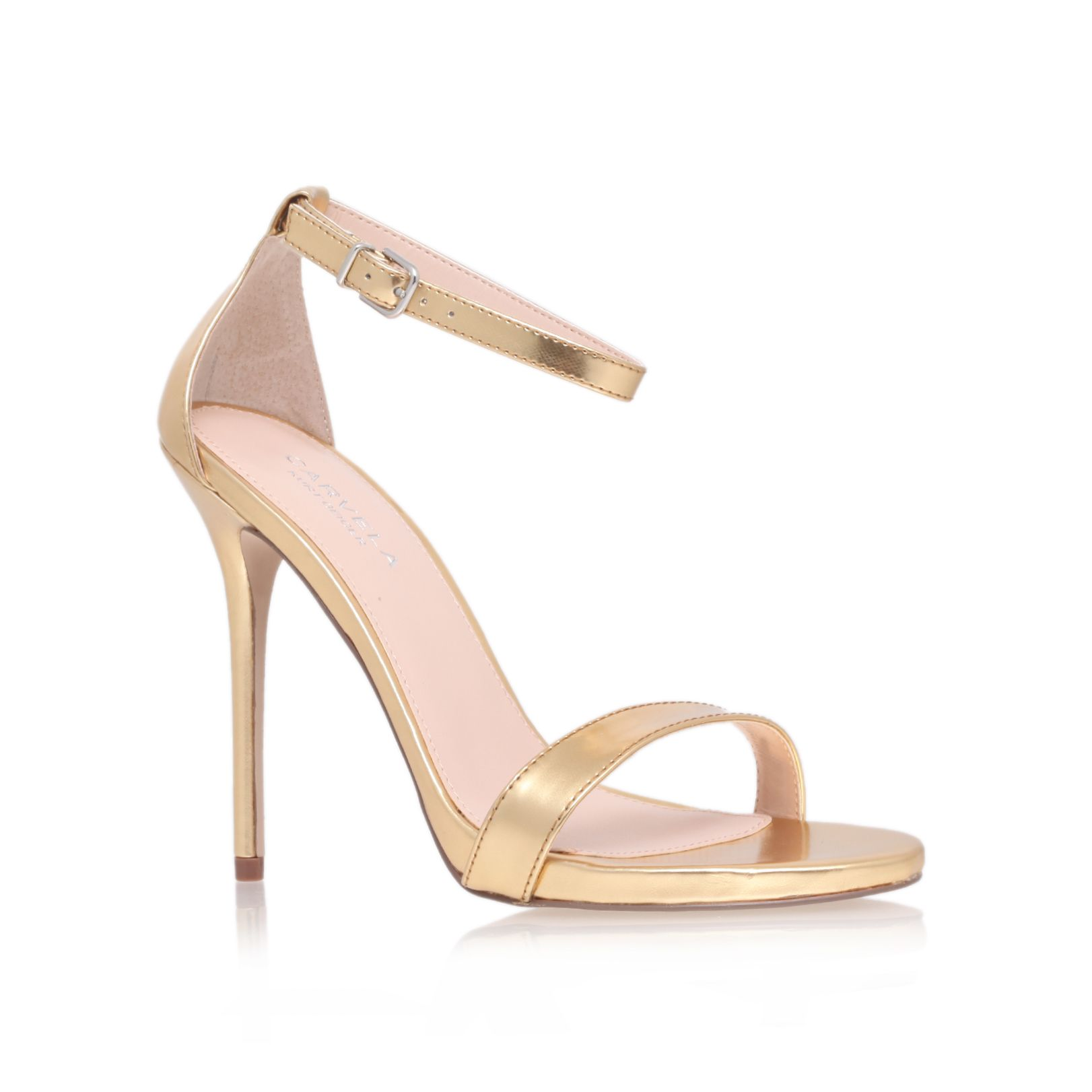 Clacier high heel sandals