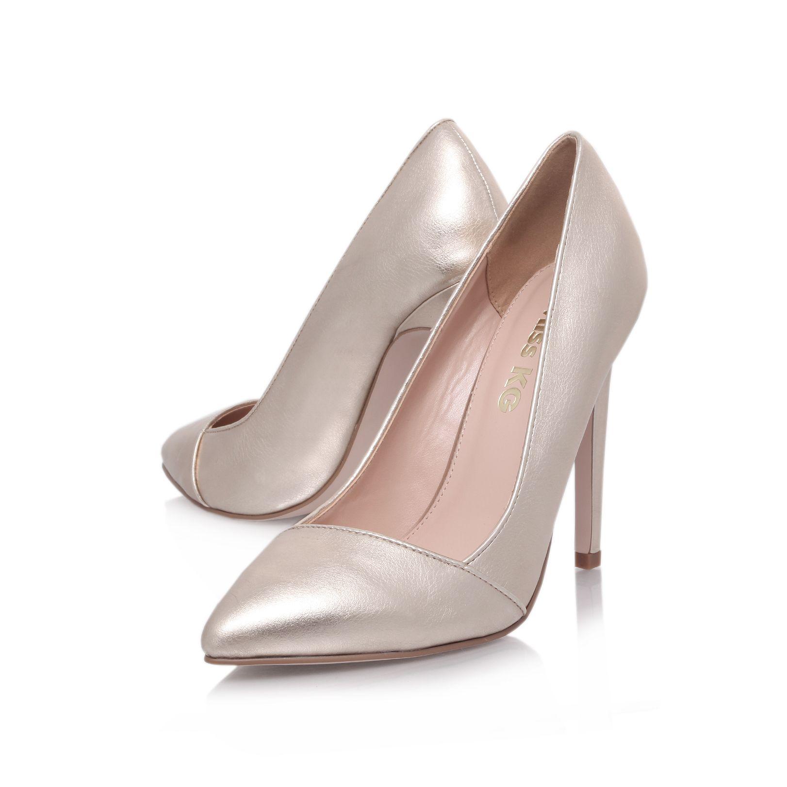 Eden high heel court shoes