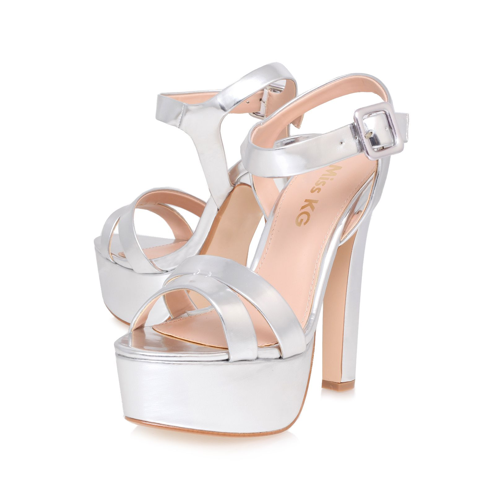 Echo high heel platform shoes
