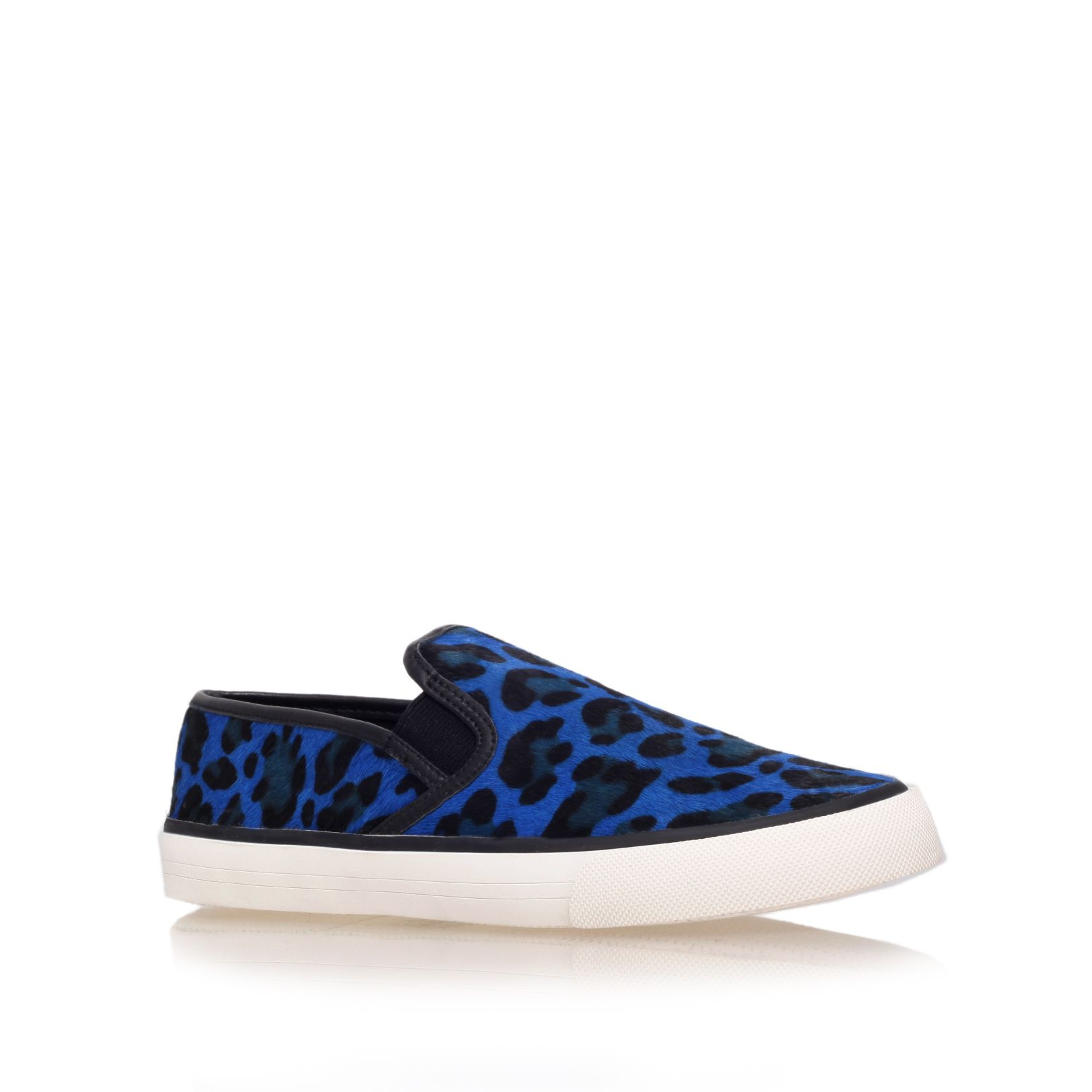 Laurel flat low top trainers