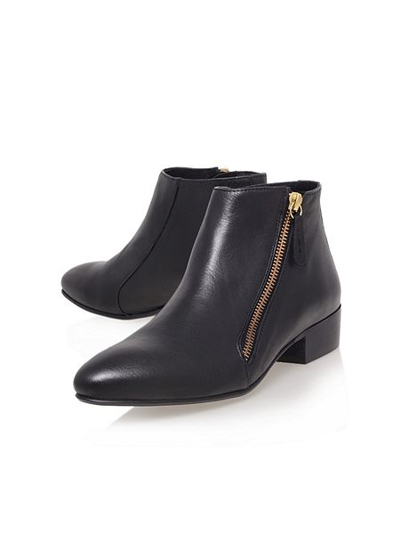 KG Sally low heel ankle boots Black - House of Fraser