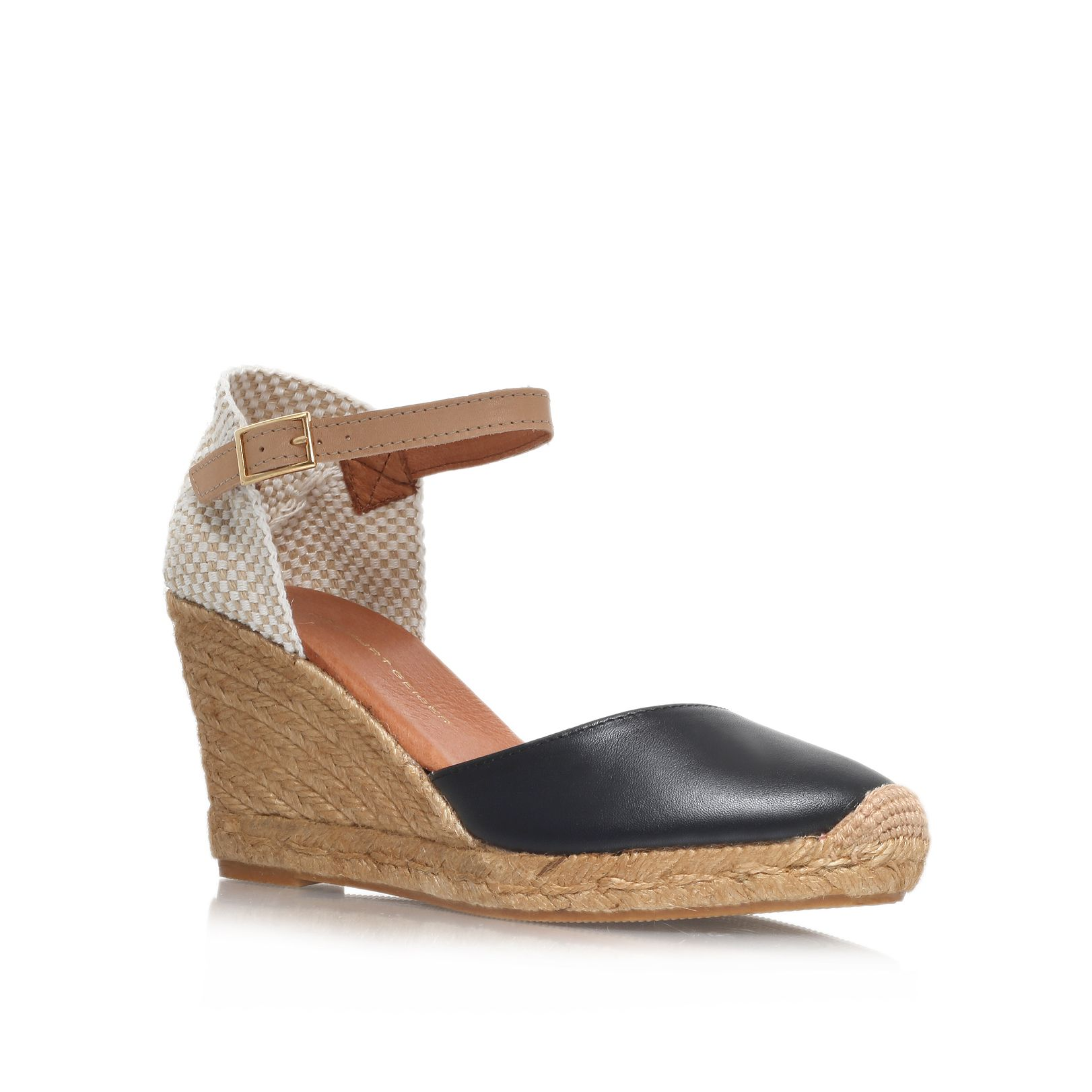 Monty high heel espadrille wedges