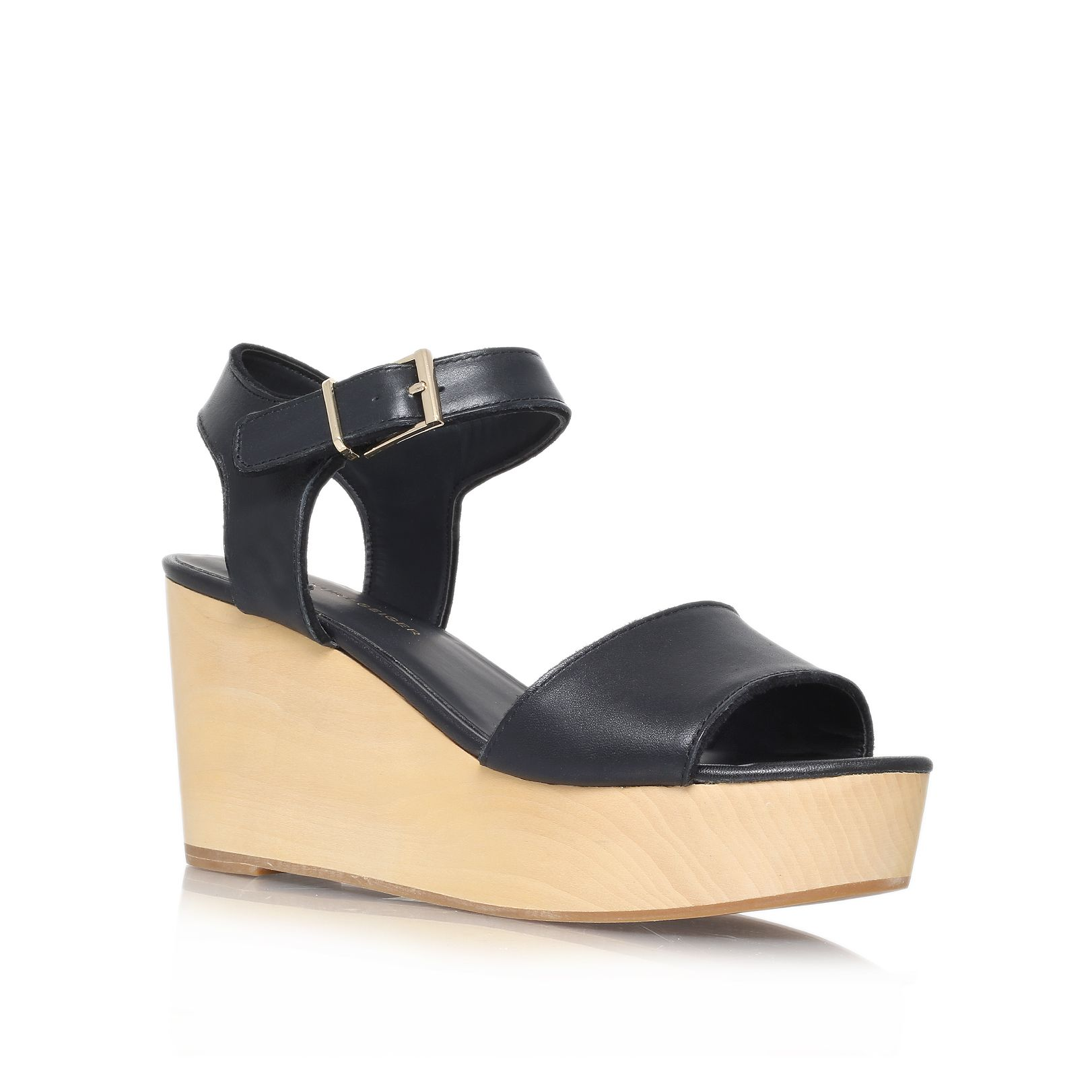 Nia high heel wedge sandals