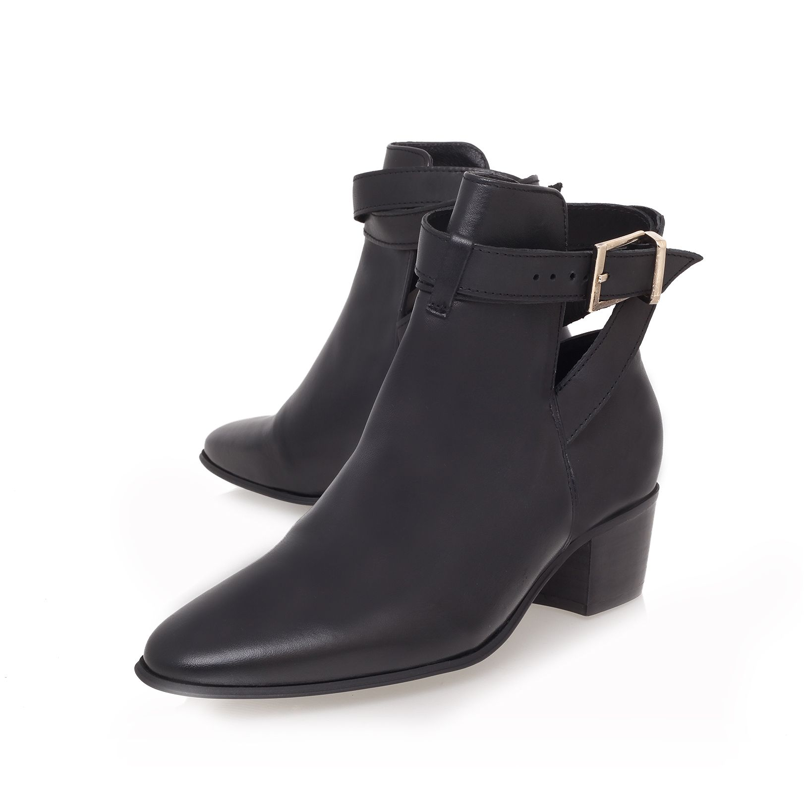 Saint mid heeled ankle boot