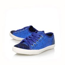 Lucca flat low top trainers