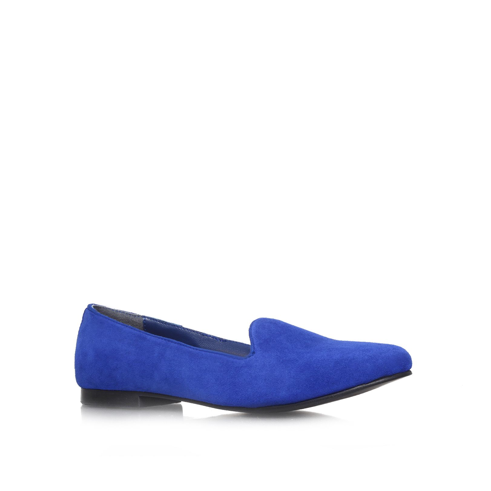 Nieve suede flat slipper shoes
