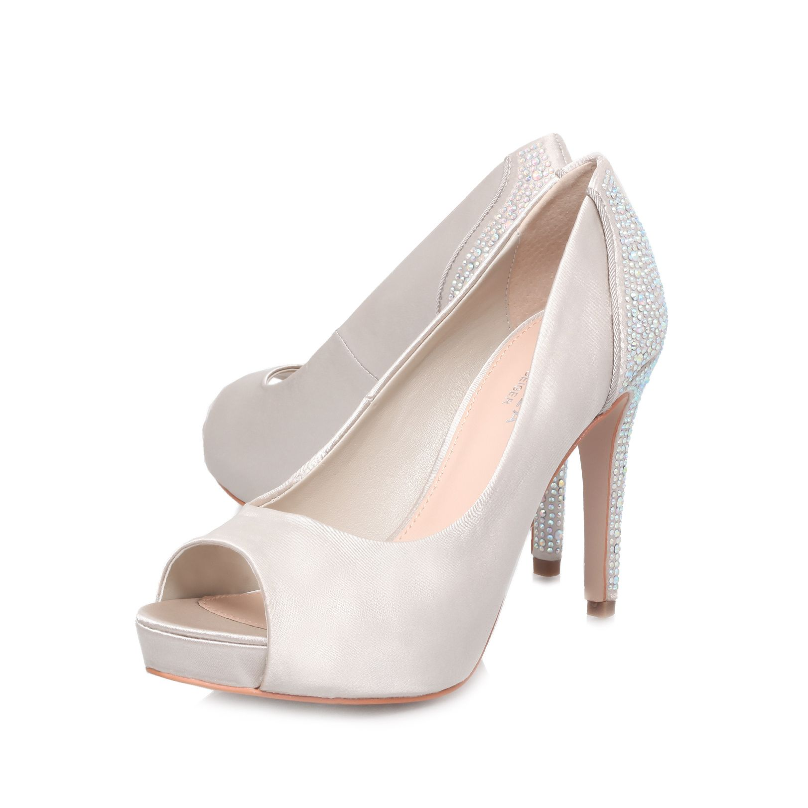 Juliette high heel court shoes