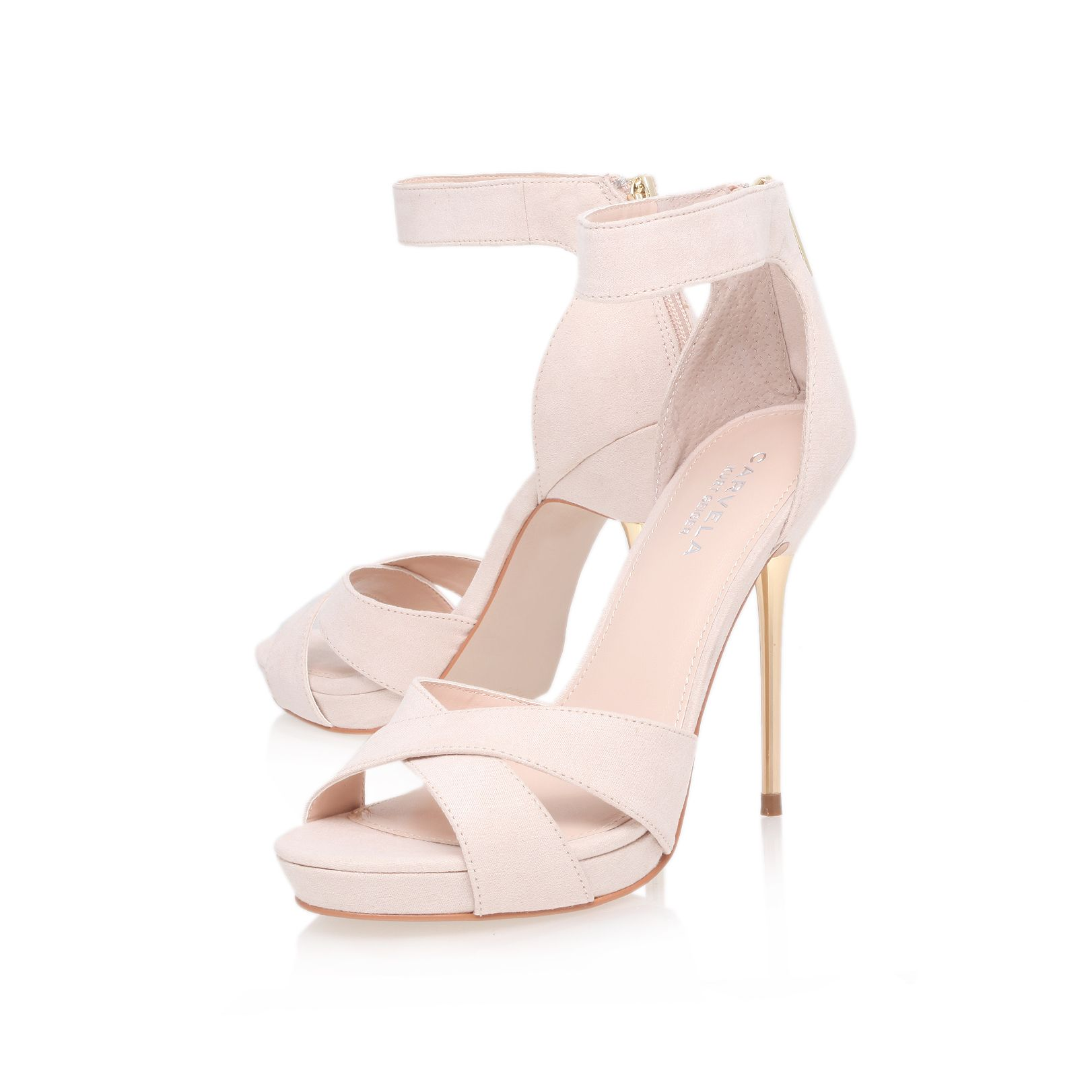 Jewel high heel sandals