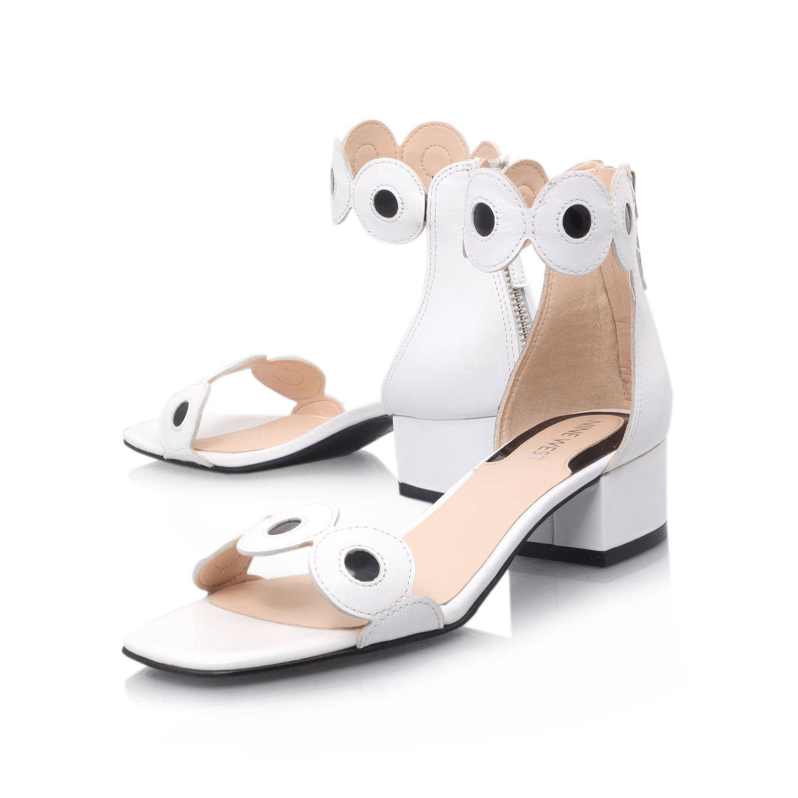 Matchmade block heel open toe sandals